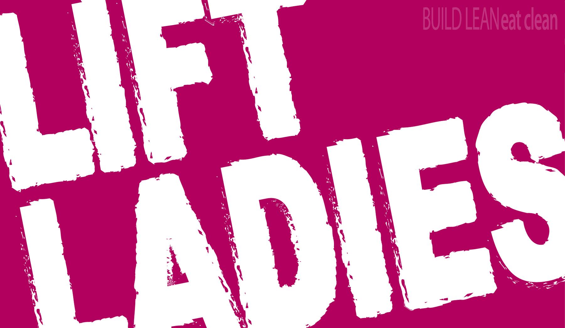 Lean muscle ladies