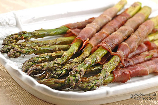 Prosciutto Wrapped Roasted Asparagus | Build Lean Eat Clean